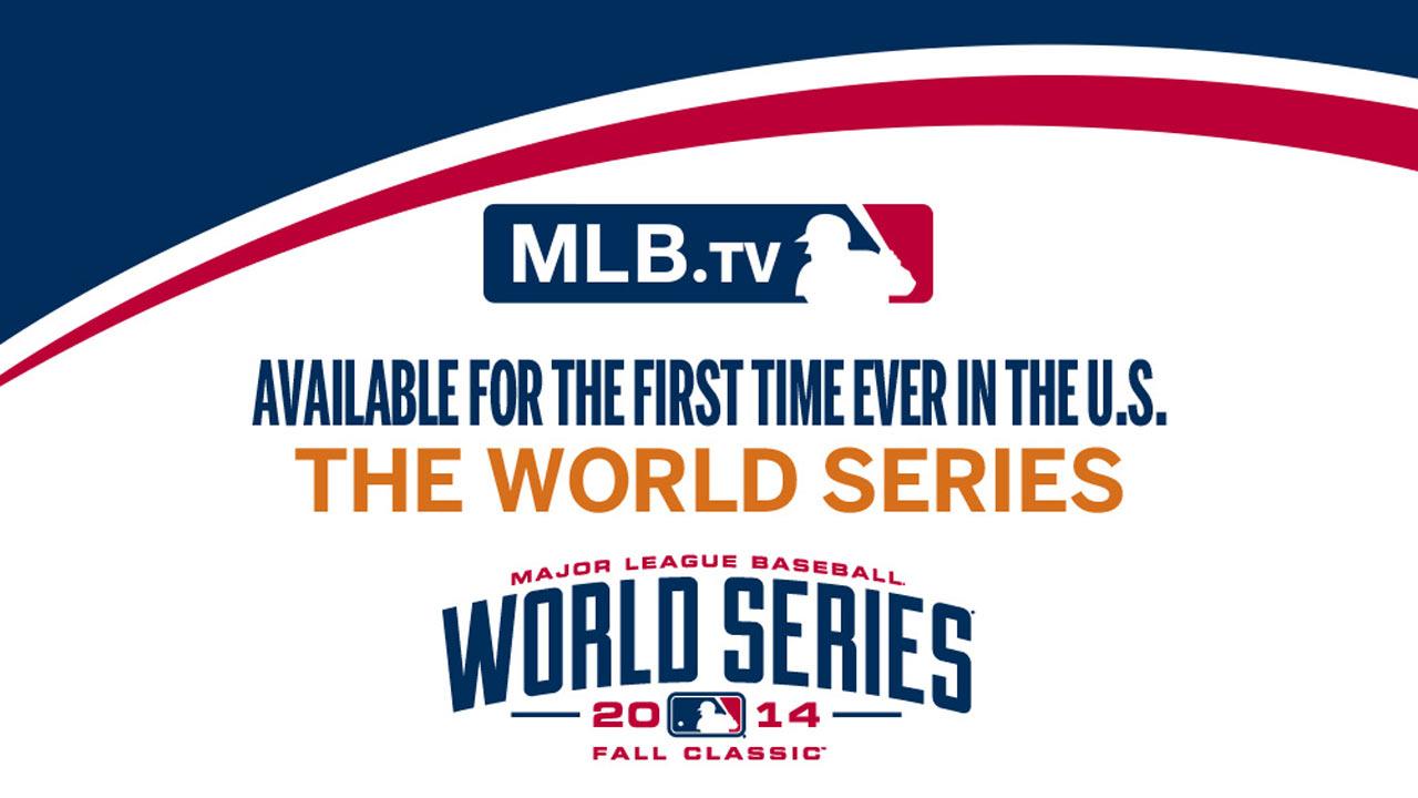 MLB.TV to stream live World Series games | MLB.com